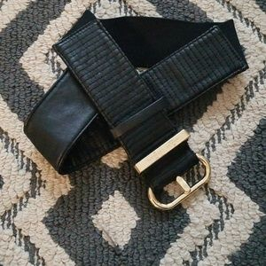Armani Exchange waist belt